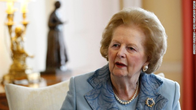 Former British Prime Minister Margaret Thatcher, a towering figure in postwar British and world politics and the only woman to become British prime minister, died at the age of 87 on Monday, April 8.